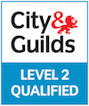 City and Guilds Level 2 Qualified